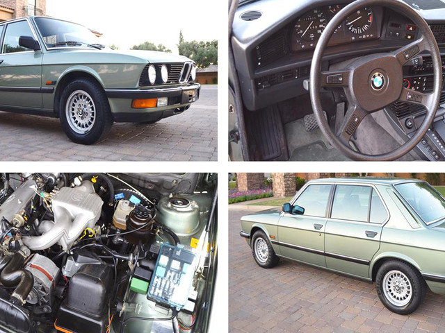 1985 BMW 518i With Reasonably Low Mileage Looks Good But Goes For $22k