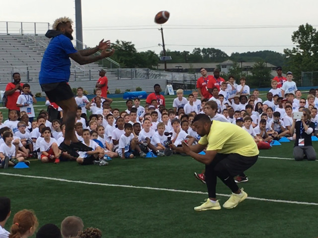 My responsibility to 'be a good role model': Odell Beckham Jr.