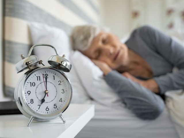 Aging and sleep: Making changes for brain health