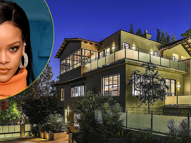 Rihanna Is Selling Her Hollywood Hills Home for $7.8 Million - See Photos from Inside!
