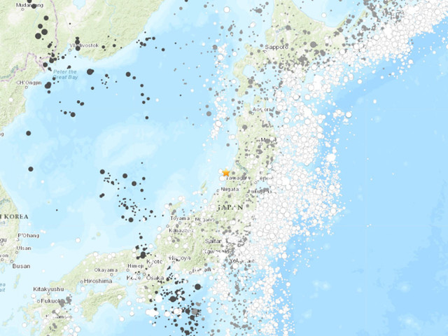 Japan earthquake: Strong quake strikes off northwestern Japan, triggers tsunami warning