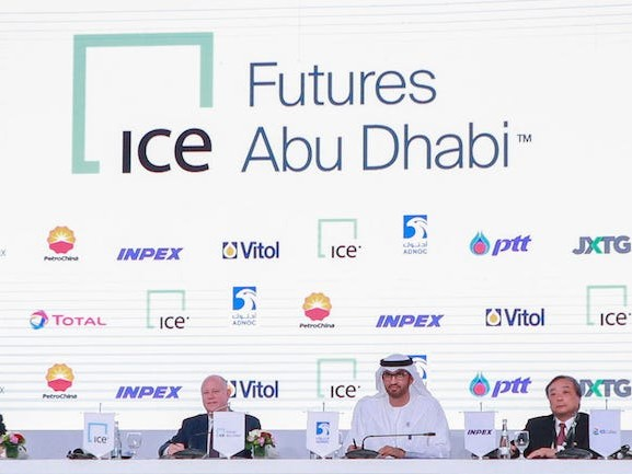 Inside a 'historic day' at the Middle East's biggest oil and gas conference, where all the world's top energy CEOs gathered to sign a deal that could permanently change the industry