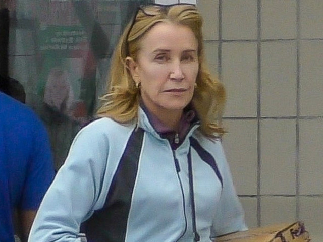 Felicity Huffman Makes Rare Appearance After Being Released From Prison
