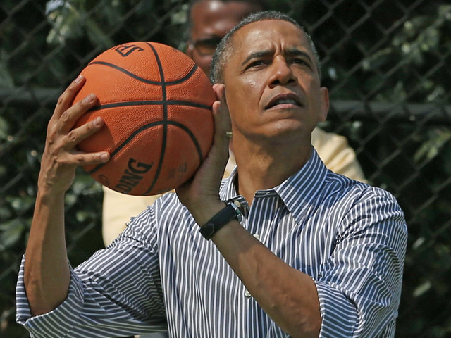 Obama's high school jersey auctioned off for $120,000