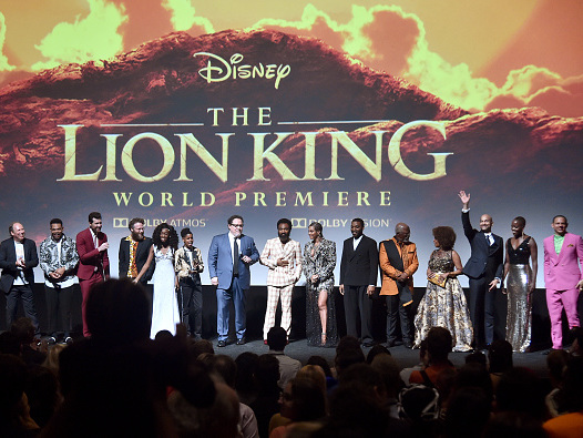 The 1A Movie Club Sees 'The Lion King'
