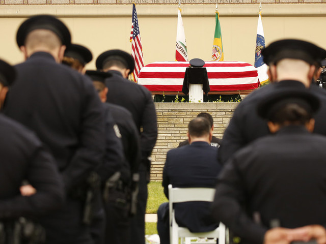 Amid mixed reactions to vaccines in police departments, Covid becomes leading cause of death