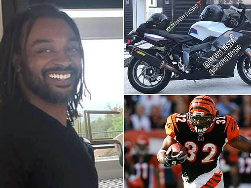 NFL running back Cedric Benson is killed in motorcycle crash at age 36