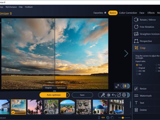 Ashampoo Photo Optimizer 8 promises much-improved 1-click photo fix