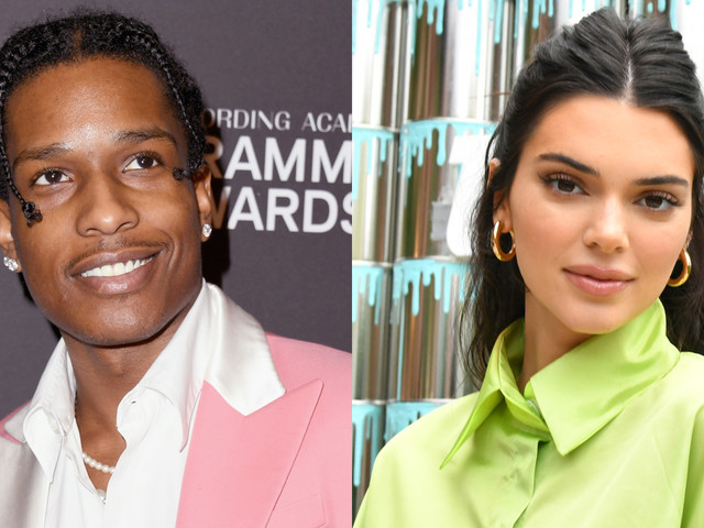 A$AP Rocky Attends Kanye West's Sunday Service with Kendall Jenner Following Release From Jail