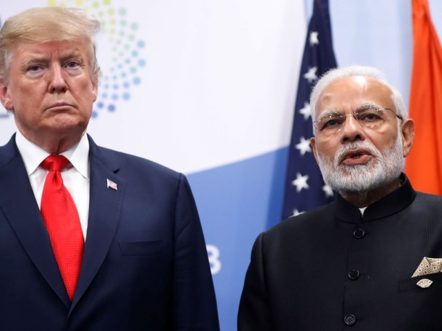Trump said India asked him to help mediate the Kashmir conflict with Pakistan. India quickly said that's not true.