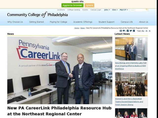New PA CareerLink Philadelphia Resource Hub at the Northeast Regional Center