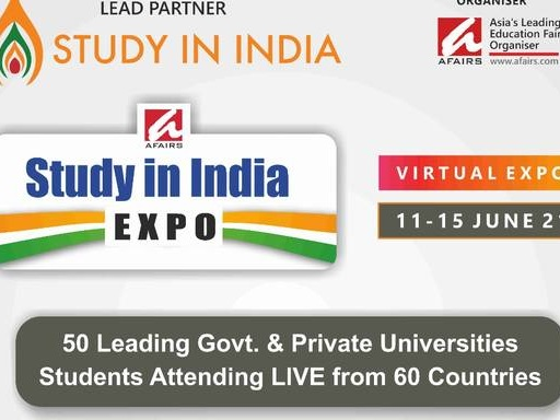 STUDY IN INDIA Virtual Expo -- Bringing the Student World to India