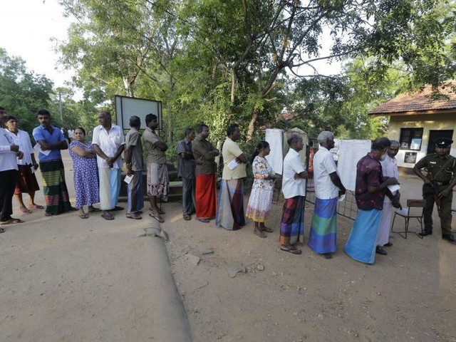 Sri Lankan presidential election marred by violence