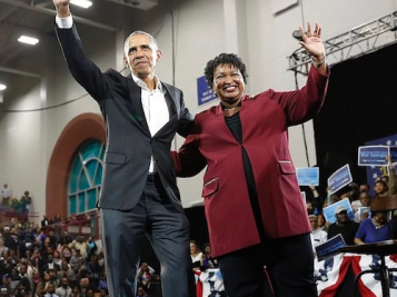 POLITICAL FAB: Barack Obama Creates Magic As He Rallies For Stacey Abrams In Georgia