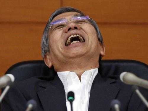 For The First Time Ever, Bank Of Japan Total Assets Surpass Japan's GDP