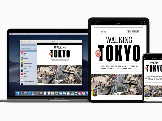 Apple News+ is a $9.99 subscription service for magazines and newspapers