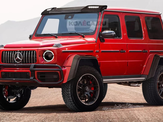The New 2021 Mercedes-Benz G-Class 4×4² Should Look A Lot Like This