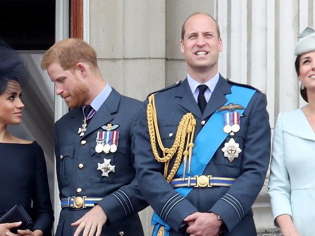 Prince Harry and Meghan Markle's names have officially been removed from the charity he started with Prince William a decade ago