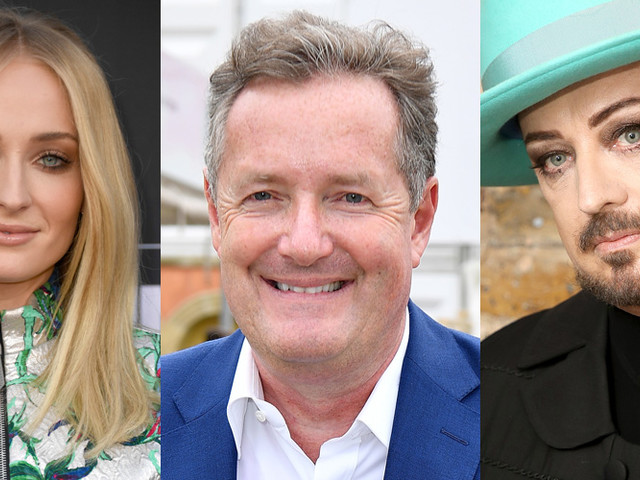 Piers Morgan Slams Idea of Sophie Turner Playing Boy George