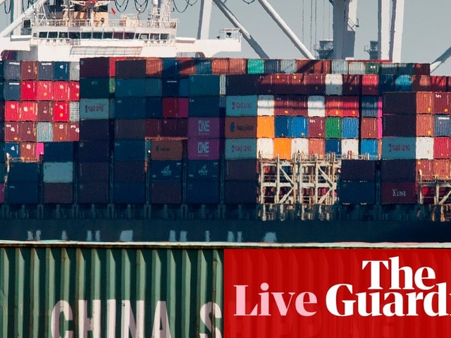 China open to 'partial trade deal' with US, as tensions rise – business live