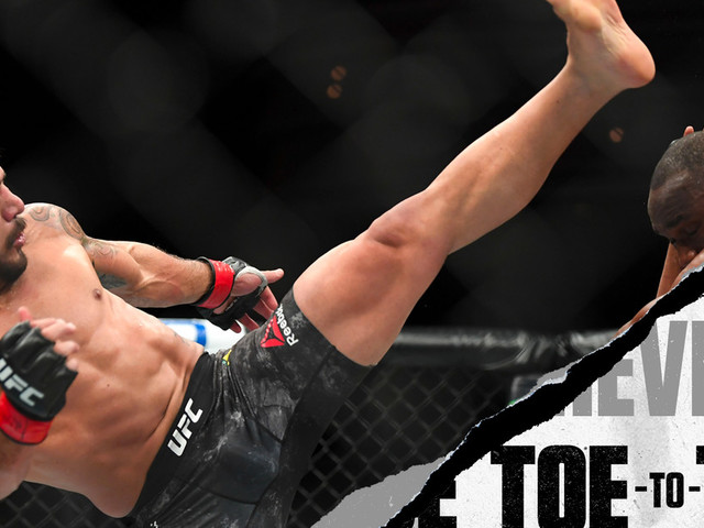 UFC Rochester: Rafael dos Anjos vs. Kevin Lee Toe-to-Toe Previe