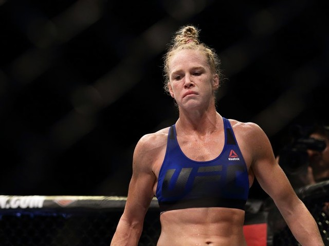Holly Holm has a message for Cris Cyborg: I've never 'needed an applause for passing my tests'