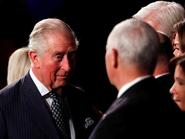 Viral video appears to show Prince Charles 'snubbing' Mike Pence