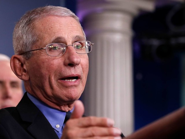 Fauci just criticized vaccine maker Moderna for doing the same thing he did