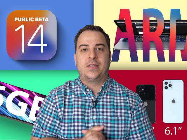 Top Stories: iOS 14 Public Beta, iPhone 12 Size Comparison, 14-Inch MacBook Pro Rumors