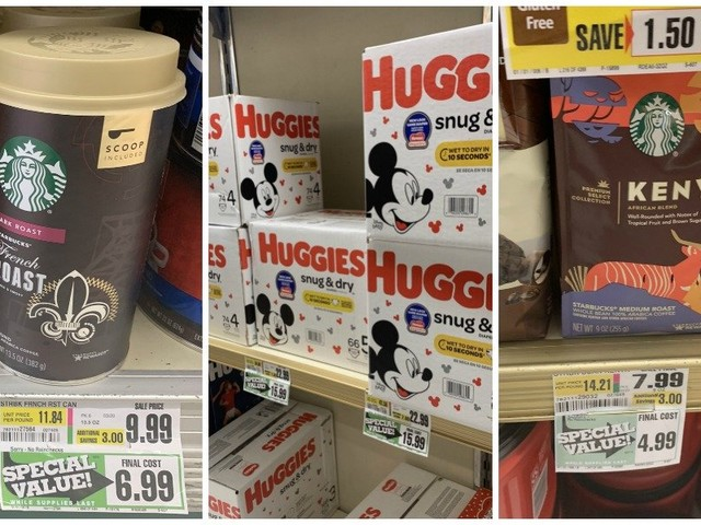 ShopRite Clearance Finds for This Week – Diapers, Starbucks & More!