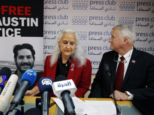 Parents Of Missing Journalist Austin Tice Mark His 7th Year In Captivity