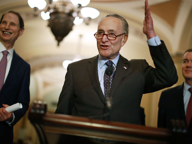 Schumer backs Trump's tough stance on China