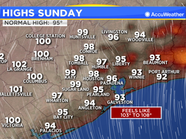 Our extremely hot, slightly wet weather pattern will continue early this week