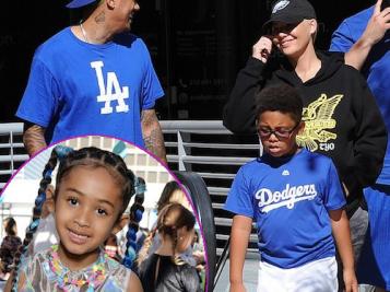 Amber Rose, Wiz Khalifa & Their Partners Bond At Bash's Baseball Game + Royalty Brown & Tia Mowry 'LOL' In LA