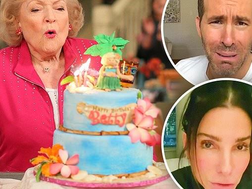 Sandra Bullock and Ryan Reynolds's Betty White birthday video