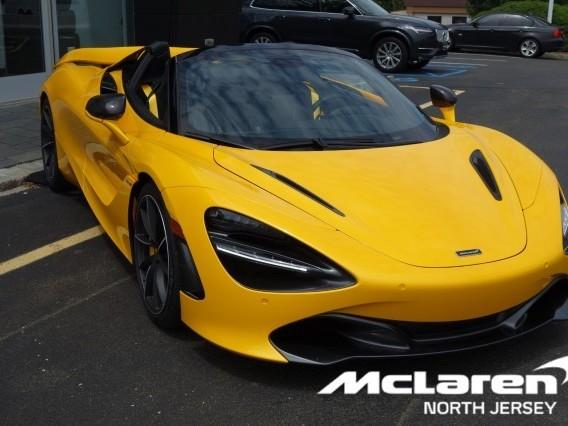 2021 McLaren 720S--Spider