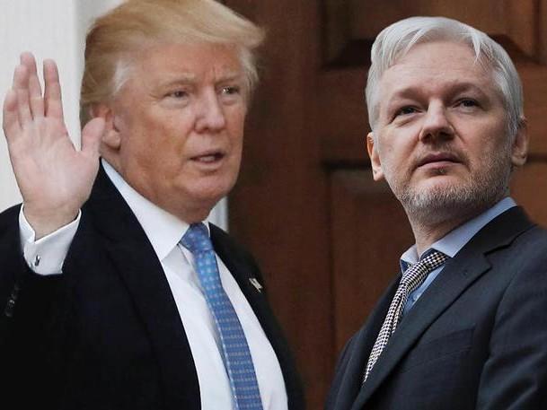 Ron Paul Blasts Trump's Betrayal Of Julian Assange