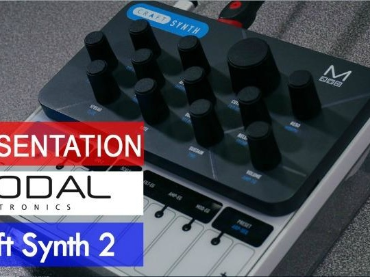 Sonic LAB Preview: Modal Craft Synth 2 (video)