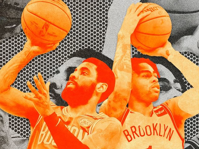 The Nets Have a Tough Decision: Kyrie Irving or D'Angelo Russell?