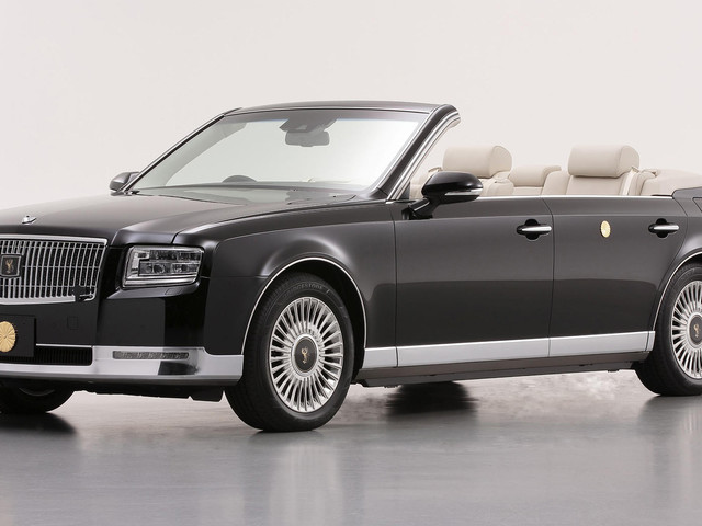 One-Off Toyota Century Convertible Is Fit For An Emperor