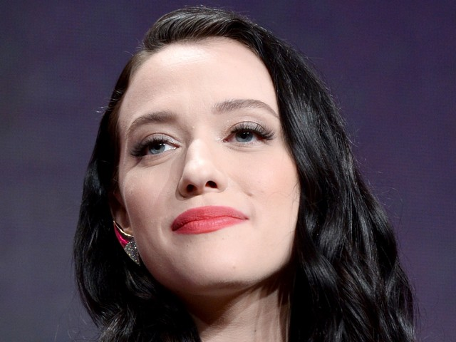 Kat Dennings' Three-Stone Engagement Ring Is A Stunner