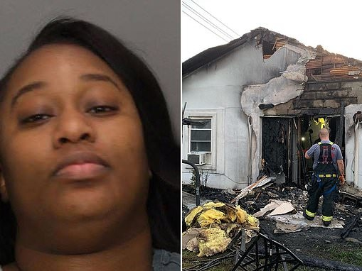 Woman burned down man's New Jersey house after 4am booty call