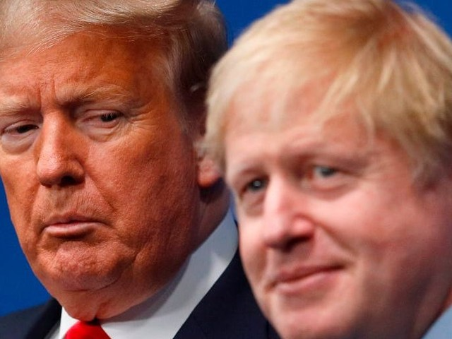 Boris Johnson has canceled his planned trip to the White House after Trump slammed the phone down on him in a moment of 'apoplectic' fury