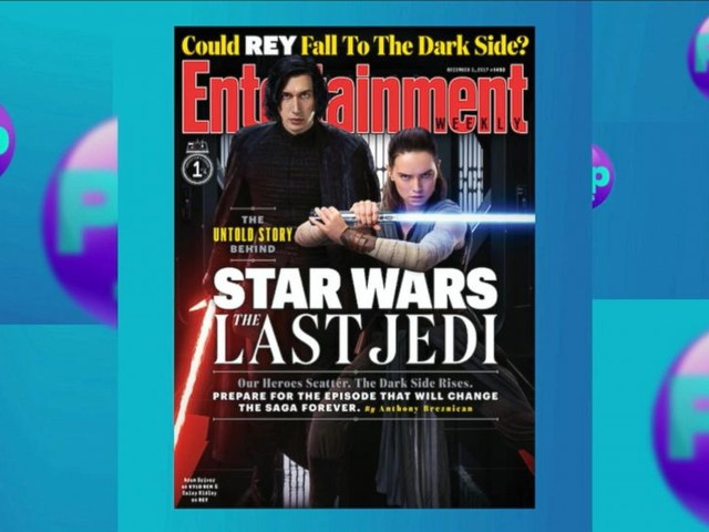 WATCH: Entertainment Weekly features 4 collector covers of 'The Last Jedi' from its magazines