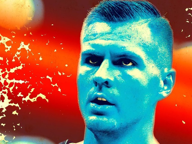 Kristaps Porzingis Is Free of the Knicks' Problems but Not His Own