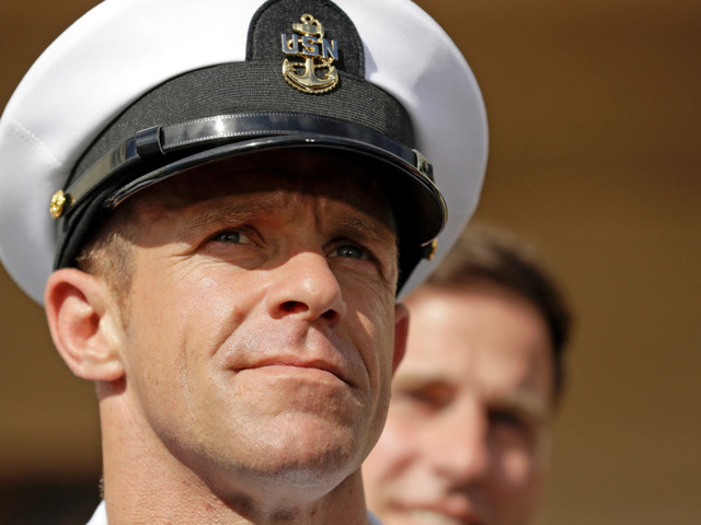 Top Navy officials threaten to resign if Trump keeps disgraced SEAL Edward Gallagher: report