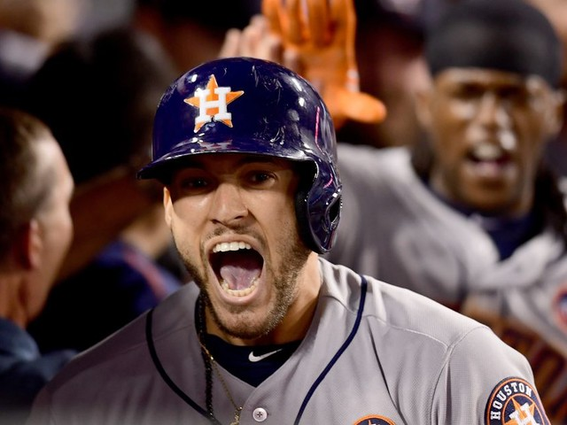 Astros beat Dodgers in LA to win first World Series game in franchise history