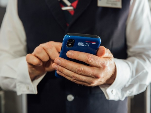 News: British Airways seeks to improve service with cabin crew iPhones
