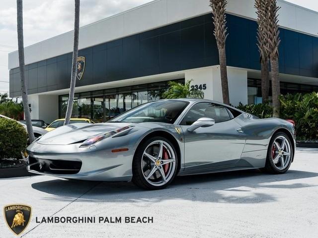 2013 Ferrari 458--Italia