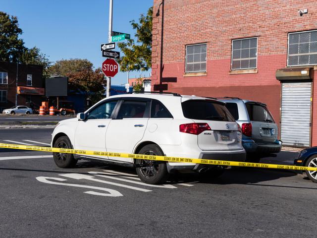 Brooklyn thief swipes car with 6-year-old boy in back seat